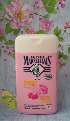 """Гель для душа экстрамягкий """"Малина и пион"""" от Le Petit Marseillais"""