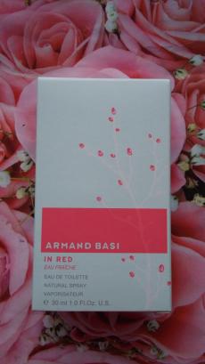 Туалетная вода In red Eau fraiche от Armand Basi