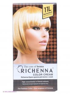 Крем-краска для волос с хной (оттенок Bleaching Blonde) от Richenna