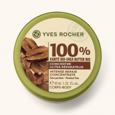 Концентрат для тела 100% Каритэ из серии SOIN VEGETAL CORPS от Yves Rocher