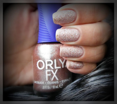 Песочный лак для ногтей FX (оттенок № 20440 Rose pixel) от Orly