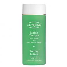 Тонизирующий лосьон для комбинированной и жирной кожи лица с экстрактом ириса от Clarins