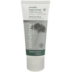 Крем дневной Гинкго и Микросеребро для чувствительной кожи (Sensitive Day Cream Ginkgo & Microsilver) от Natuderm Botanics