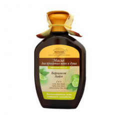 "Масло для принятия ванн и душа ""Бергамот и лайм"" от Зеленой аптеки"