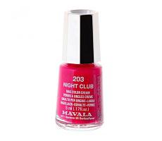 Лак для ногтей Mini Color (оттенок № 203 Night club) от Mavala