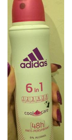 Дезодорант Cool and Care 6 in 1 от Adidas