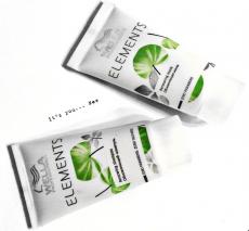 Обновляющий шампунь и обновляющая маска для волос Elements от Wella Professionals
