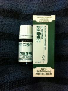 Эфирное масло Сельдерея от IRIS