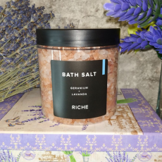 "Соль для ванны ""Герань и Лаванда"" от Riche"