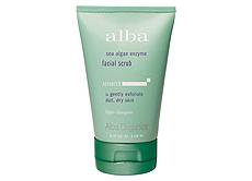 Скраб для лица с ферментами из морских водорослей Sea Algae Enzyme Facial Scrub от Alba Botanica