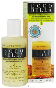 Гель для лечения акне Leave-On Invisible Exfoliant & Blemish Remedy от Ecco Bella