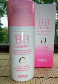 Очищающая пенка для удаления BB крема Bubble BB Cleanser от Skin 79