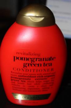 Тонизирующий кондиционер для волос Revitalizing pomegranate green tea Conditioner от Organix