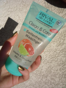 Гель для умывания Clean & Care Seifenfreies Waschgel Limette & Grapefruit от Rival de Loop