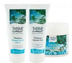 Гель для душа c водорослями и морскими минералами от Therme Skincare