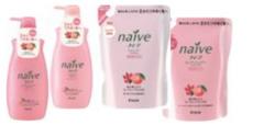 Восстанавливающие шампунь и бальзам для сухих волос NAIVE KRACIE от Kanebo