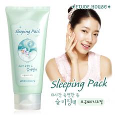 Ночная маска для сужения пор sleeping facial pack от Etude House