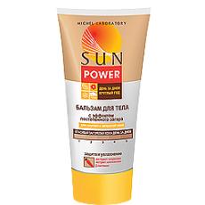 Бальзам для тела с эффектом постепенного загара Sun Power (для светлой кожи) от Michel Laboratory