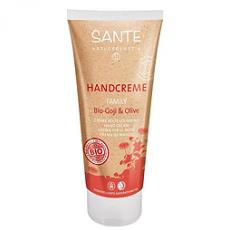 Крем для рук с ягодами Годжи и Оливой от Sante Naturkosmetik