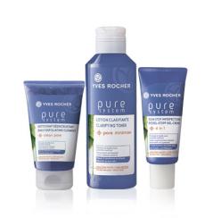 Набор Pure System для проблемной кожи лица от Yves Rocher