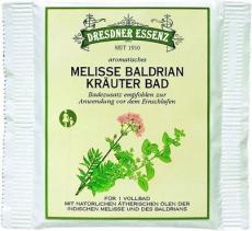 Соль для ванны - Мелисса и валериана (HERBAL BATH MELISSA VALERIAN) от Dresdner Essenz