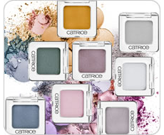 Тени для век Absolute Eye Colour Mono (оттенки № 140, № 400, № 500) от Catrice