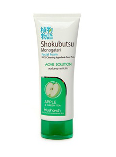 Пенка для умывания Shokubutsu Monogatari Acne Solution от Lion