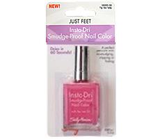 Быстросохнущий лак для педикюра Insta-Dri Smudge-Proof Nail Color от Sally Hansen