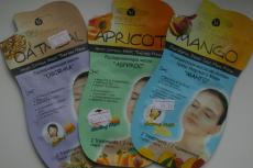 Маски для лица (овсянка, абрикос, манго) от Skinlite
