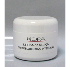 """Крем-маска пртивовоспалительная """"КОРА"""""""