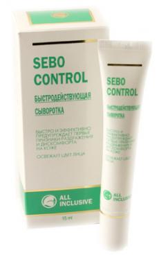 Быстродействующая сыворотка для лица SEBO CONTROL от All  INCLUSIVE