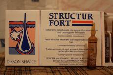 Ампулы мгновенного действия STRUCTUR FORT от Dikson
