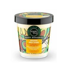 Восстанавливающий крем для тела Banana Milk Shake (серия Body Desserts) от Organic Shop