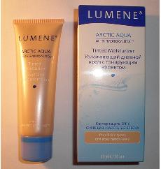 Увлажняющий крем с тонирующим эффектом Arctic aqua с SPF6 от Lumene