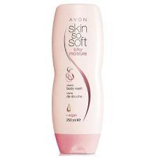 Крем-гель для душа с маслом аргании Skin so soft от Avon