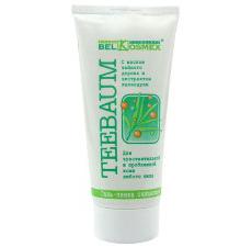 Гель-пенка очищающая для чувствительной и проблемной кожи с маслом чайного дерева и календулой от Belkosmex