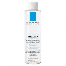 Очищающая жидкость для снятия макияжа для жирной и чувствительной кожи Effaclar от La Roche-Posay