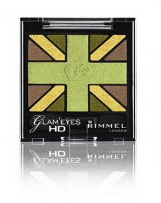 Тени для век Glam' Eyes HD (оттенок № 004) от Rimmel