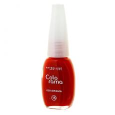Лак для ногтей Colorama (оттенок №15 - Яблочная карамель) от Maybelline