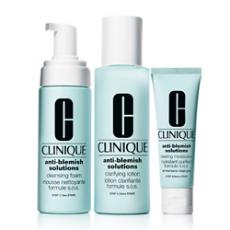 3-Ступенчатая Система для ухода за проблемной кожей лица Anti-Blemish Solutions 3-Step System от Clinique