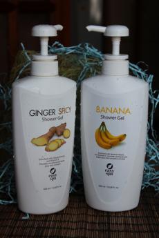 Гель для душа Ginger Spicy и Banana от Easy SPA