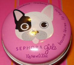 Бальзам для губ Girls lip balm raspberry от Sephora