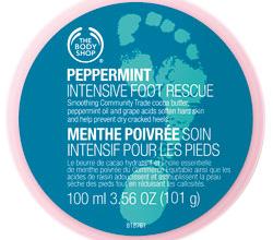 Крем для ног Peppermint Intensive Foot Rescue от The Body Shop