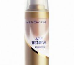 Тональный крем Age Renew от Max Factor