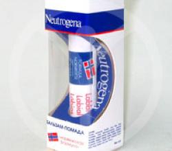 Бальзам-помада для губ от Neutrogena