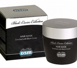 Маска для волос DSM Hair Mask extraction with Black Caviar (косметика на основе черной икры) от Mon Platin