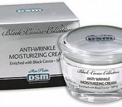 Увлажняющий крем для лица линии Black Caviar с экстрактом натуральной черной икры SPF 15 от Mon Platin