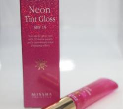 Блеск-тинт для губ Neon Tint Gloss от Missha
