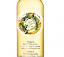 Сухое масло для тела и волос Olive Beautifying Oil от The Body Shop