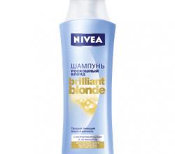 Шампунь Роскошный блонд Brilliant Blonde для светлых волос от Nivea